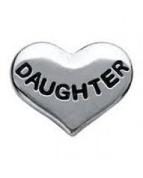 Floating Charm Hart Daughter -