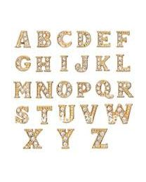Floating Charm Letter Goud -