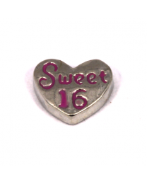 Floating Charm Sweet 16 -