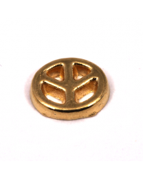 Floating Charm Peace Goud -