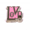Floating Charm Love Roze