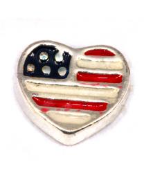 Floating Charm Amerikaanse Vlag  -